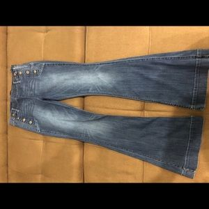 Express Jeans - Midrise Bell Flare